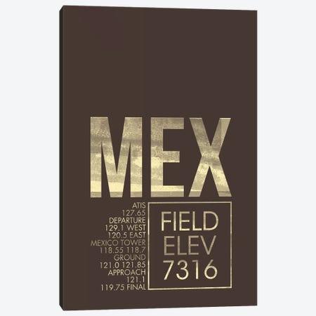 Mexico City (Benito Juarez) Canvas Print #OET33} by 08 Left Canvas Print