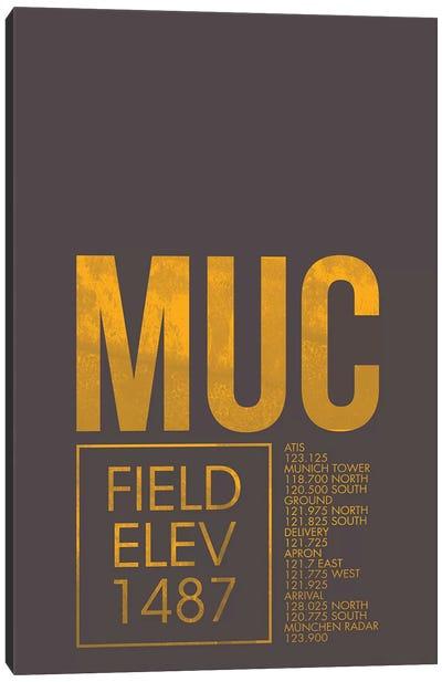Air Traffic Control Series: Munich Canvas Print #OET38