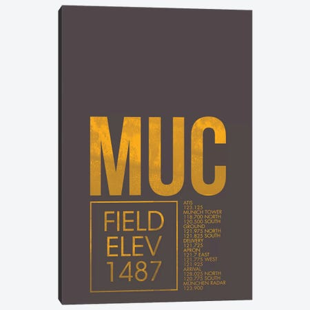 Munich Canvas Print #OET38} by 08 Left Art Print