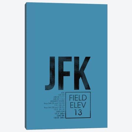 New York (JFK) Canvas Print #OET39} by 08 Left Canvas Print