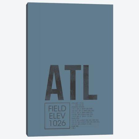 Atlanta (Hartsfield-Jackson) Canvas Print #OET3} by 08 Left Canvas Print