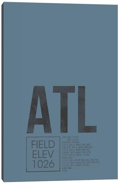 Atlanta (Hartsfield-Jackson) Canvas Art Print