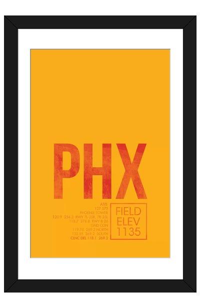 Phoenix Sky Harbor Framed Art Print
