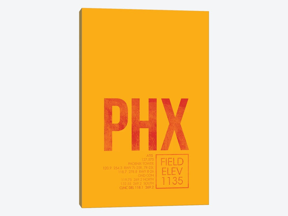 Phoenix Sky Harbor by 08 Left 1-piece Canvas Artwork