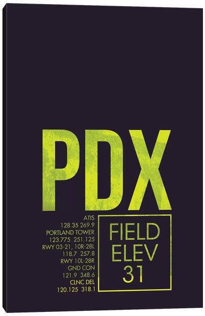 Air Traffic Control Series: Portland Canvas Print #OET46
