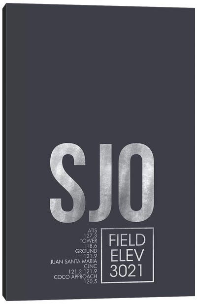 San Jose Canvas Art Print
