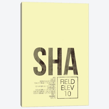 Shanghai Hongqiao Canvas Print #OET53} by 08 Left Canvas Print