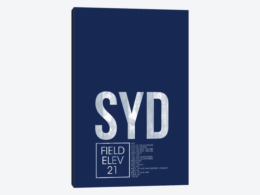 Sydney (Kingsford Smith) by 08 Left 1-piece Art Print