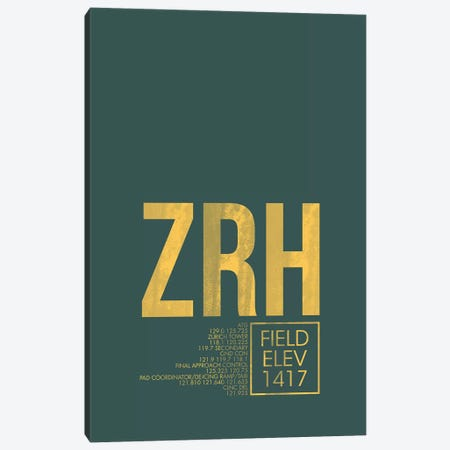 Zurich Canvas Print #OET65} by 08 Left Art Print