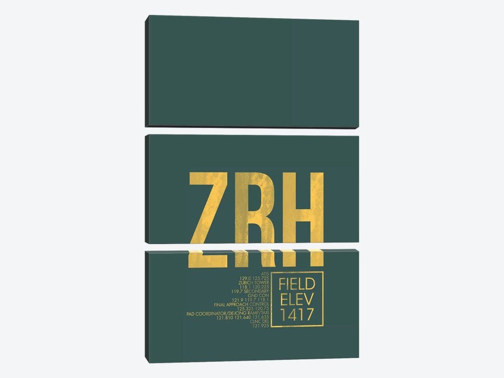 Zurich by 08 Left 3-piece Art Print