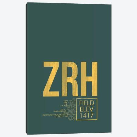 Zurich Canvas Print #OET65} by 08 Left Art Print