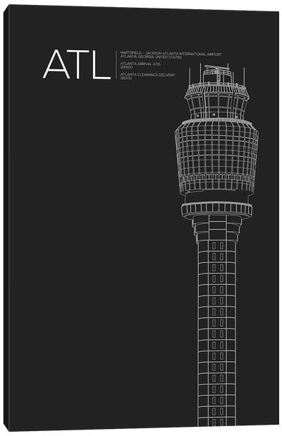 Atlanta (Hartsfield-Jackson) Canvas Art Print