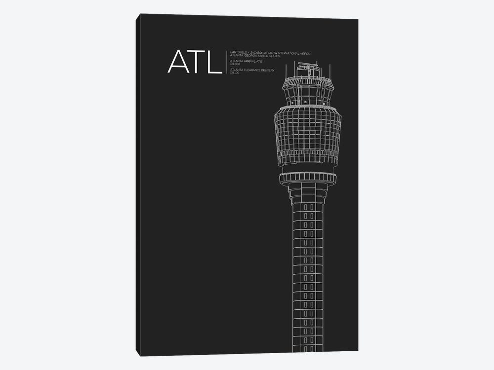 Atlanta (Hartsfield-Jackson) by 08 Left 1-piece Canvas Wall Art