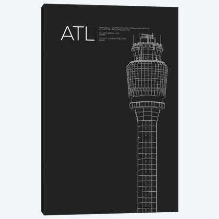 Atlanta (Hartsfield-Jackson) Canvas Print #OET66} by 08 Left Canvas Print