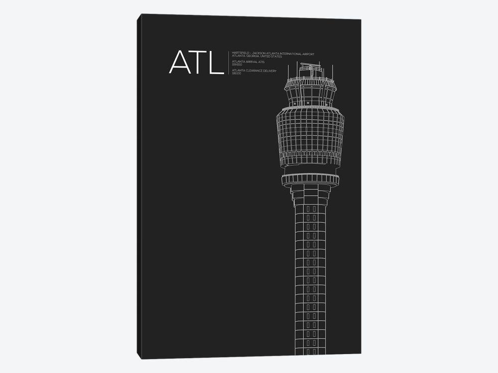 Atlanta (Hartsfield-Jackson) by 08 Left 1-piece Canvas Wall Art