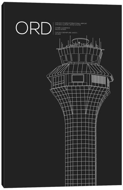 Air Traffic Control Towers Series: Chicago (O'Hare) Canvas Print #OET68