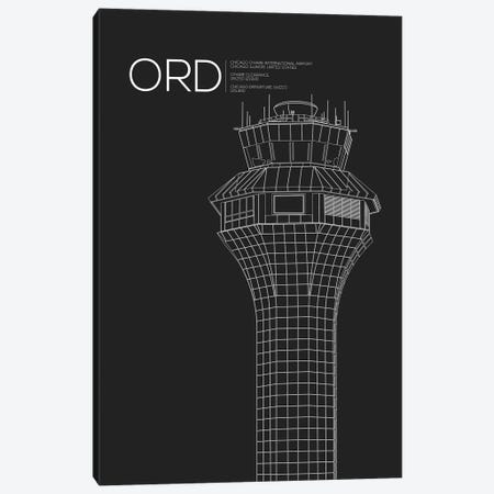 Chicago (O'Hare) Canvas Print #OET68} by 08 Left Canvas Art
