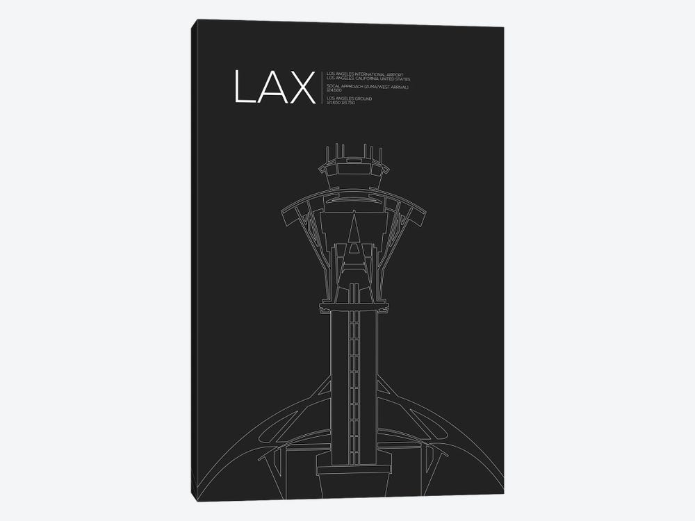 Los Angeles by 08 Left 1-piece Canvas Art Print