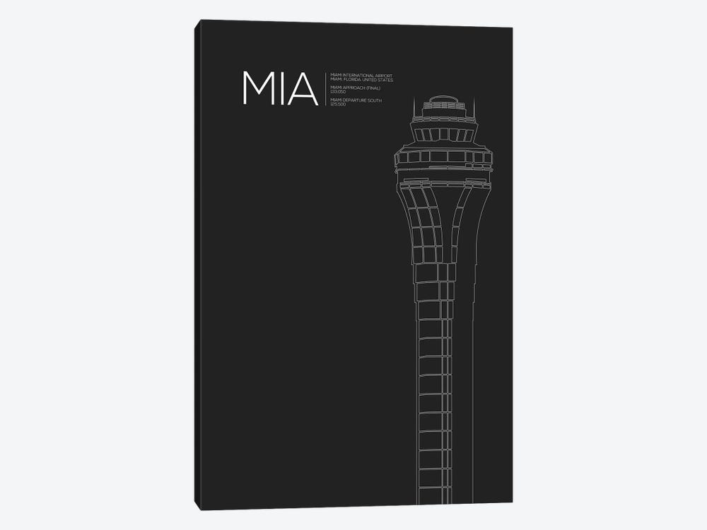 Miami by 08 Left 1-piece Canvas Art