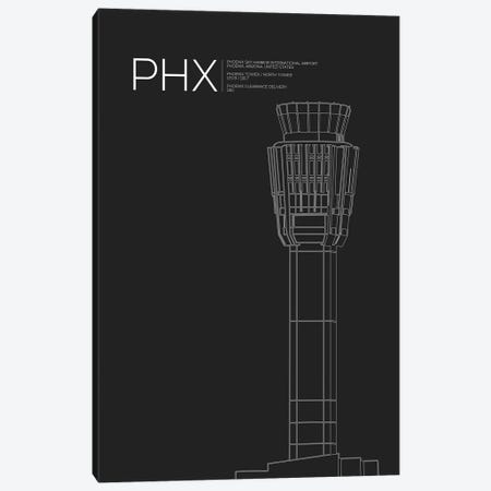Phoenix Sky Harbor Canvas Print #OET74} by 08 Left Canvas Artwork
