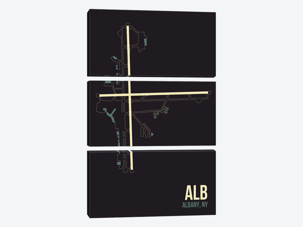Albany by 08 Left 3-piece Canvas Art Print