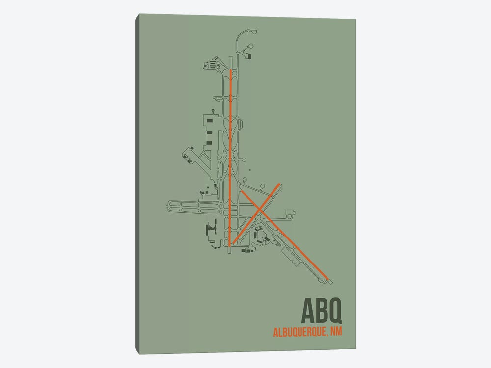 Albuquerque by 08 Left 1-piece Canvas Art