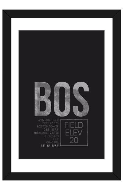 Boston (Logan) Framed Art Print