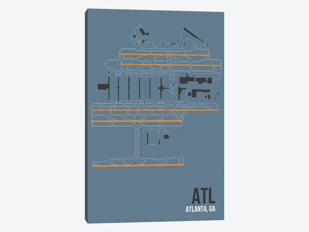 Atlanta (Hartsfield-Jackson) by 08 Left 1-piece Canvas Art