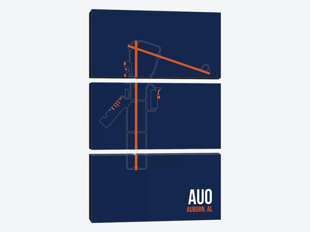 Auburn by 08 Left 3-piece Canvas Art Print
