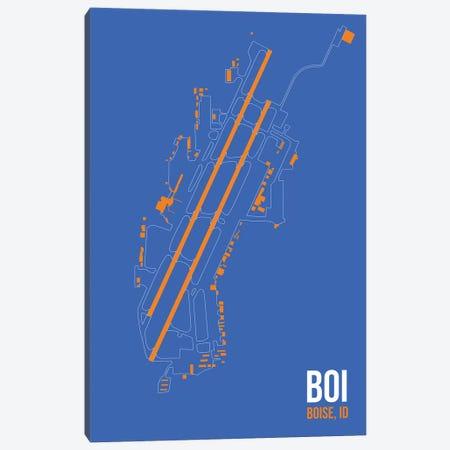 Boise Canvas Print #OET84} by 08 Left Art Print