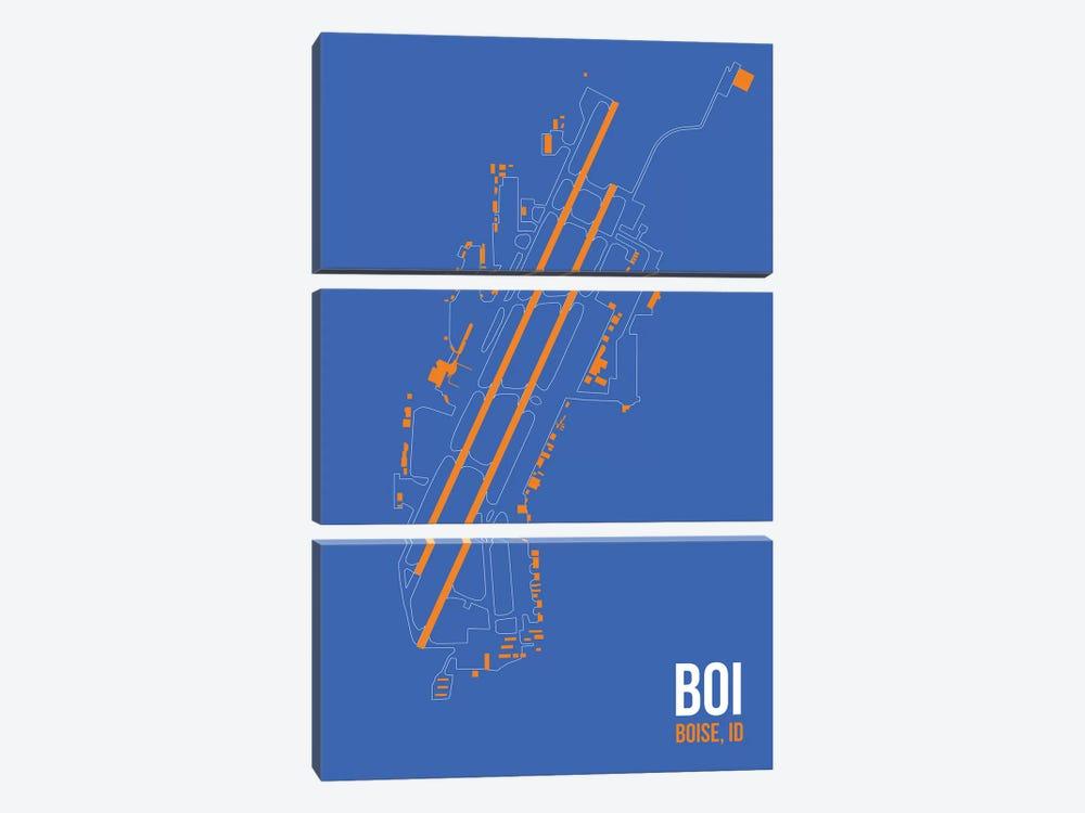 Boise by 08 Left 3-piece Canvas Art