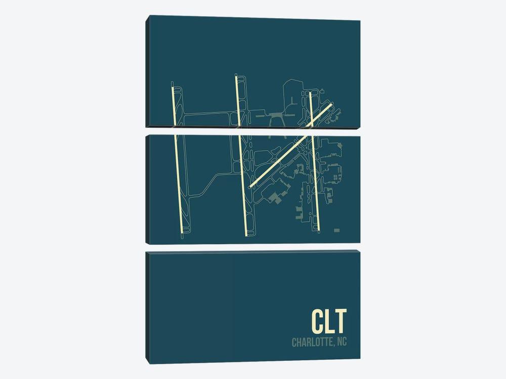 Charlotte Douglas by 08 Left 3-piece Canvas Art