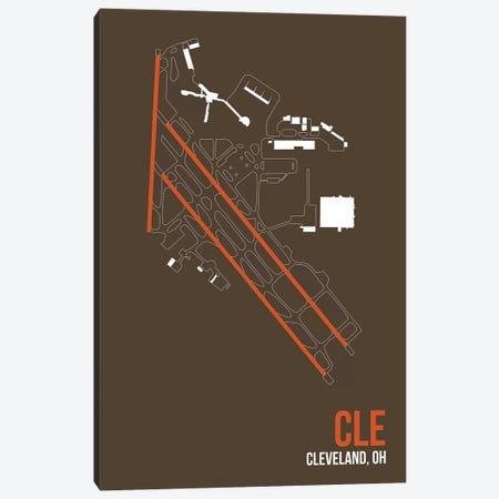 Cleveland Hopkins Canvas Print #OET91} by 08 Left Art Print