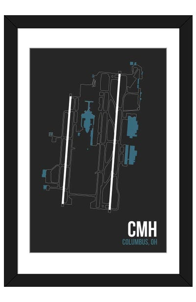 Columbus (John Glen) Framed Art Print