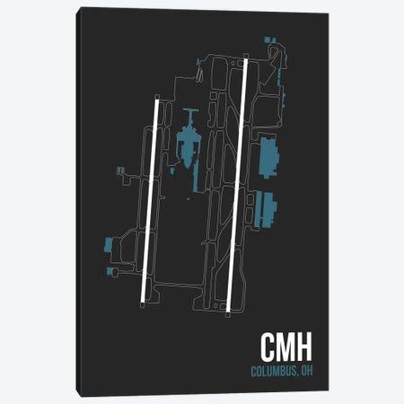 Columbus (John Glen) Canvas Print #OET92} by 08 Left Canvas Print