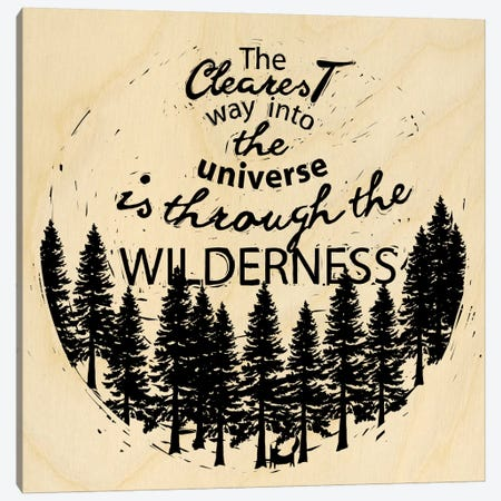 Is Through The Wilderness Canvas Print #OFA22} by 5by5collective Canvas Art Print