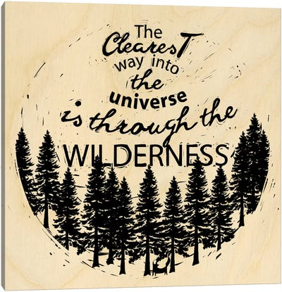 Is Through The Wilderness Canvas Art Print