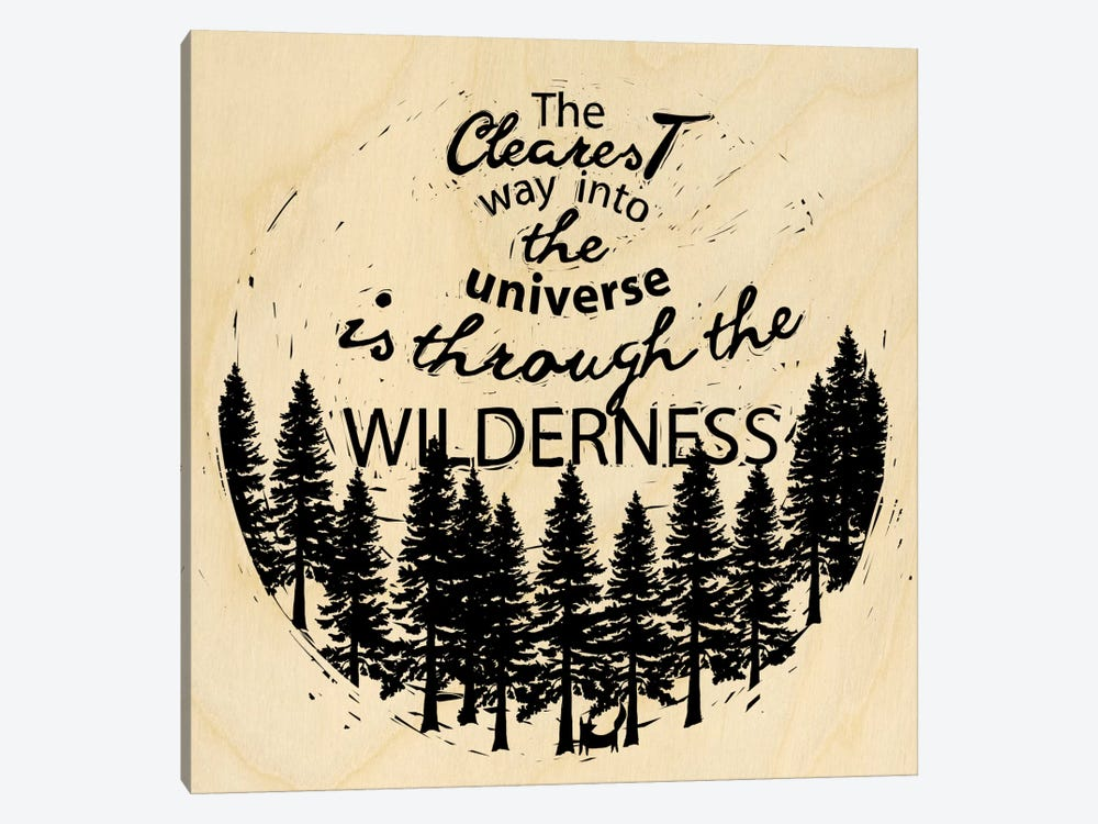 Is Through The Wilderness 1-piece Canvas Print