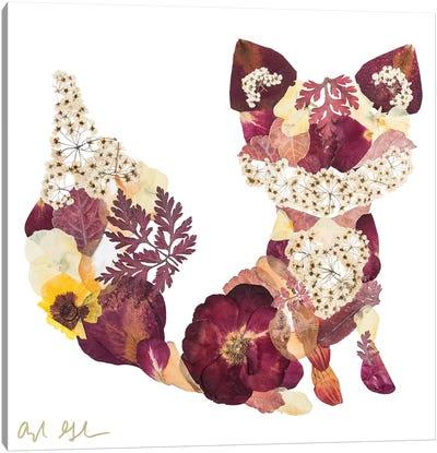 Fox - Brown Canvas Art Print