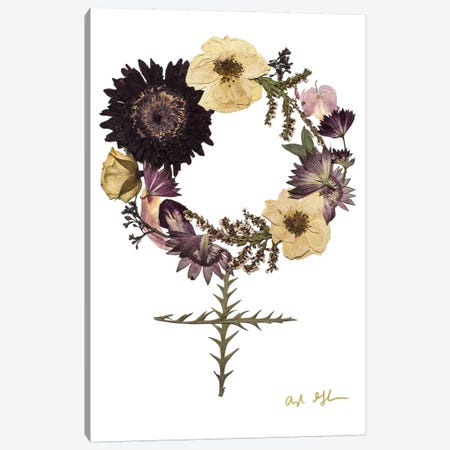 Run The World Canvas Print #OFC24} by Oxeye Floral Co Canvas Artwork