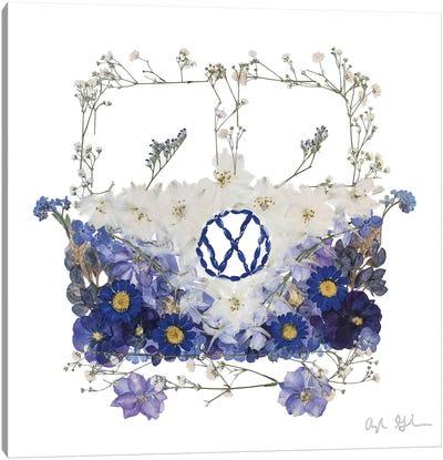 VW - Blue Canvas Art Print
