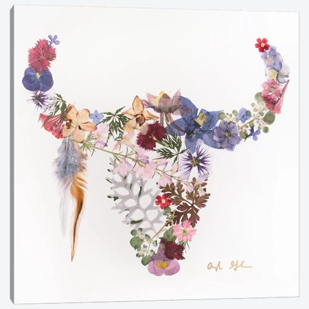 Buffalo Bette Canvas Print #OFC5} by Oxeye Floral Co Canvas Print