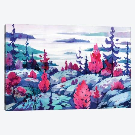 Northern Places Canvas Print #OGA31} by Olga Aksenova Canvas Art Print