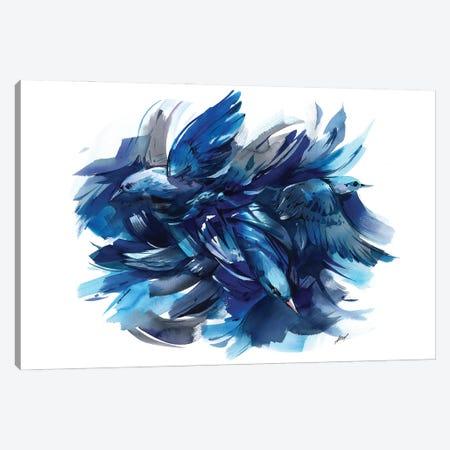 Fight Canvas Print #OGA3} by Olga Aksenova Canvas Art Print