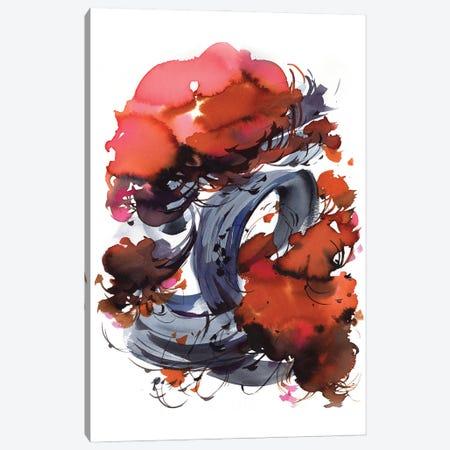 Bonsai Canvas Print #OGA43} by Olga Aksenova Canvas Artwork