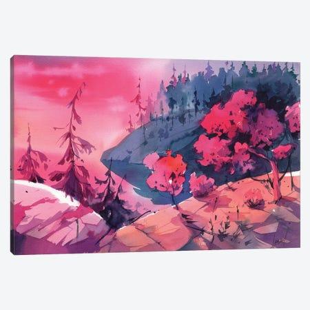 Before Sunset Canvas Print #OGA8} by Olga Aksenova Canvas Print