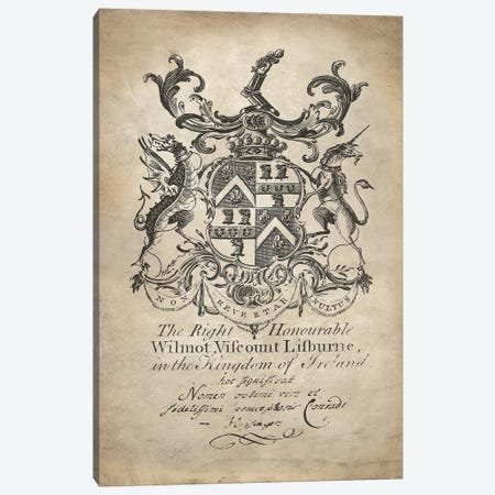 Heraldry II Canvas Print #OJE10} by Oliver Jeffries Canvas Art