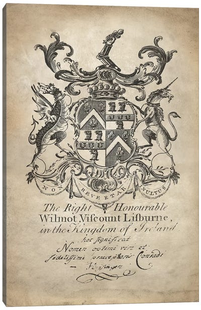 Heraldry II Canvas Art Print