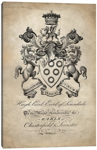 Heraldry III Canvas Art Print