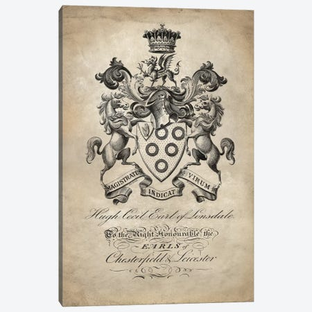Heraldry III Canvas Print #OJE11} by Oliver Jeffries Canvas Artwork